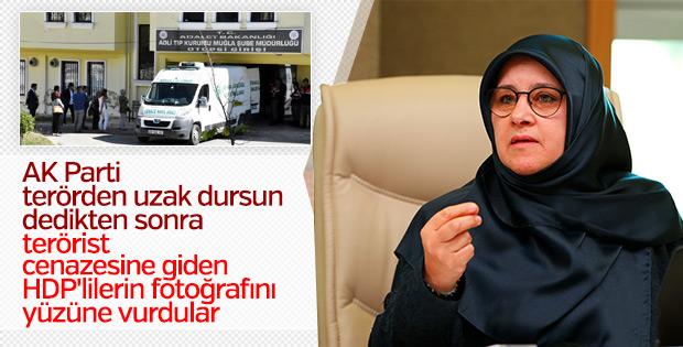 HDP'liler terörist cenazesi görüntüsünü inkar etti