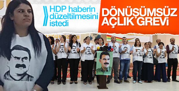 HDP, DBP ve DTK'nın açlık grevi başladı