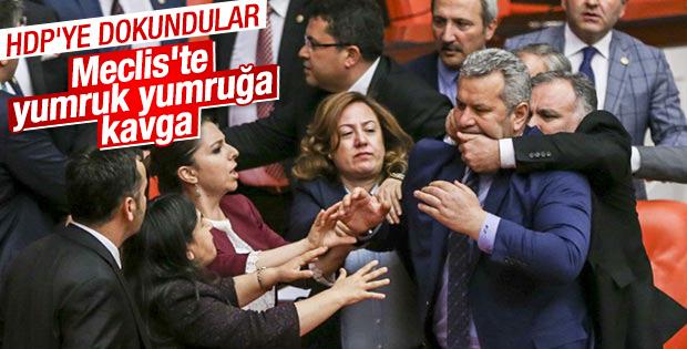 HDP'li vekilin sözleri Meclis'i karıştırdı