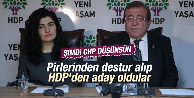 Alevi başkanlar HDP'den aday