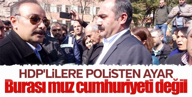 HDP'liler Öcalan için toplanacaktı, polis engelledi