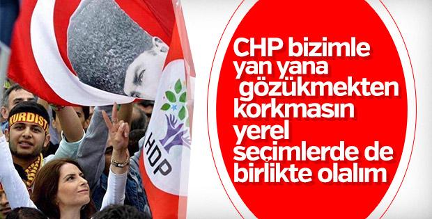 HDP'den CHP'ye ittifak mesajı