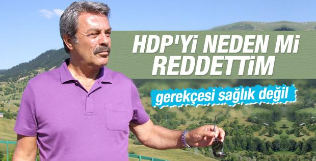 Kadir İnanır HDP'ye neden hayır dediğini açıkladı