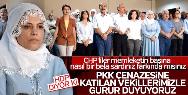 HDP: Vekillerimizle gurur duyuyoruz