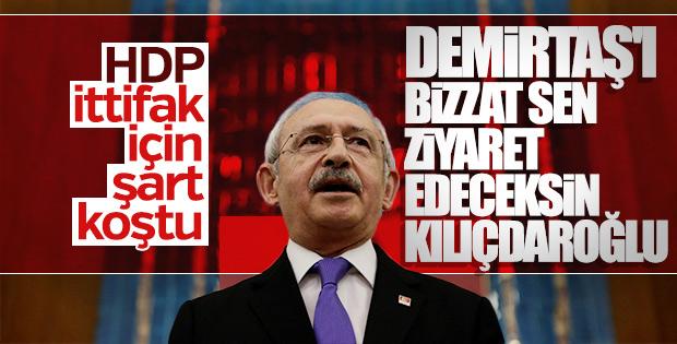 HDP'den Kılıçdaroğlu'na çağrı: Demirtaş'ı ziyaret et