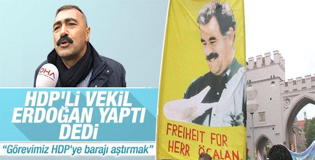 HDP'li vekil Ankara'daki saldırıyı Erdoğan'a bağladı