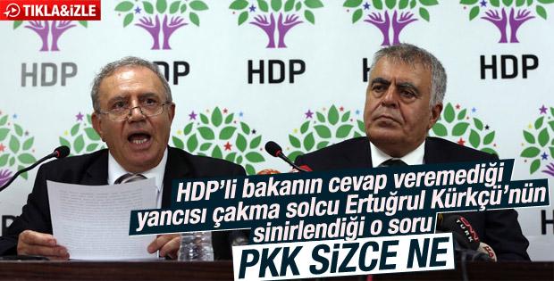 İstifa eden HDP'li bakanlara PKK sizce ne sorusu İZLE