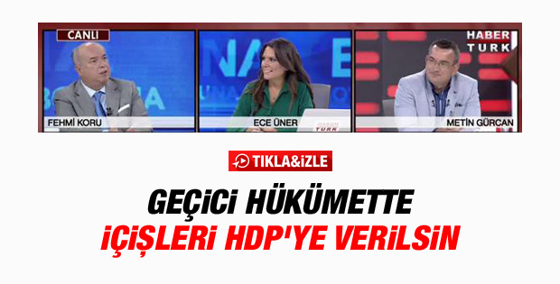 Fehmi Koru: HDP de MGK'ya girsin