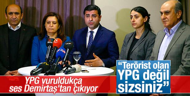 Demirtaş: PYD değil AKP terör örgütü