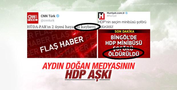 Doğan Medya'nın HDP aşkı bitmiyor