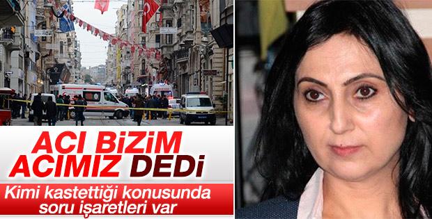 Taksim'deki saldırı sonrası HDP'den açıklama