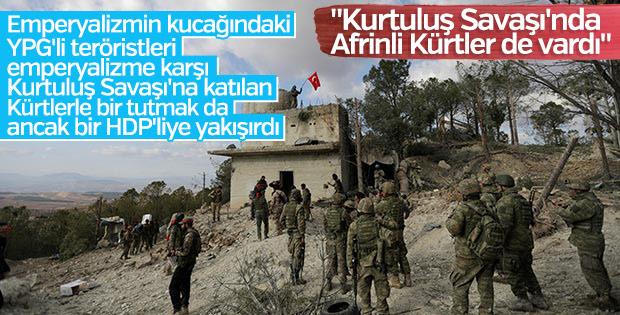 HDP: Afrinliler Kurtuluş Savaşı'na katılmıştı