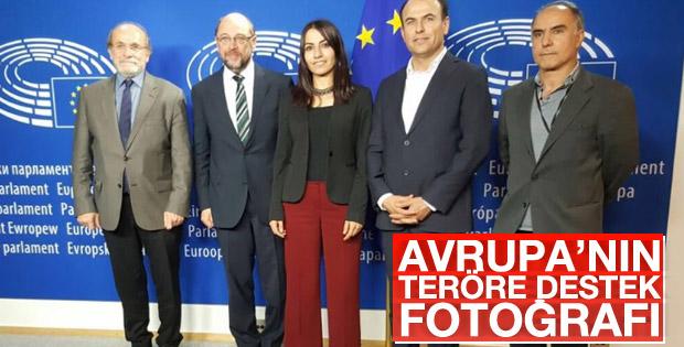 AP Başkanı Schulz firari HDP'lileri ağırladı