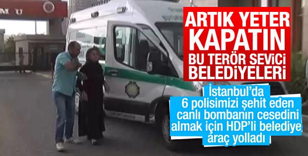 HDP'li belediyeden canlı bombaya araç tahsisi