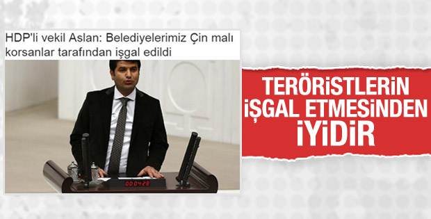 HDP'li vekil Aslan'dan kayyuma tepki