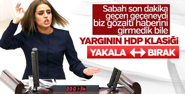 Gözaltına alınan HDP'li vekil yine serbest kaldı