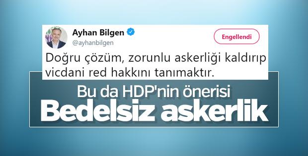 HDP vicdani ret istiyor