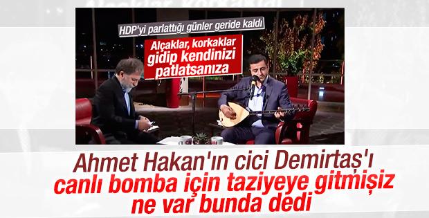 HDP'den Ahmet Hakan'ın yazısına yanıt geldi