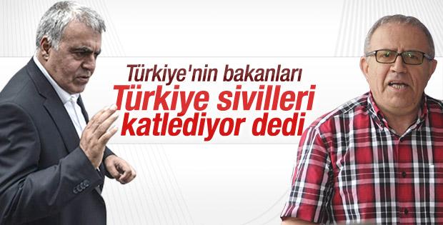 HDP'li bakanlar Cizre'de devlet katliam yapıyor dedi