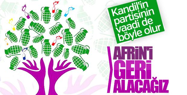 HDP'nin seçim vaadi: Afrin geri alınacak