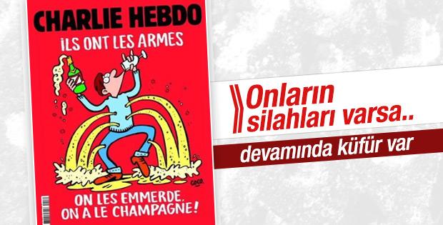 Charlie Hebdo'nun terör olaylarının ardından ilk sayısı