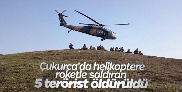 Hakkari ve Şırnak'ta 8 terörist öldürüldü