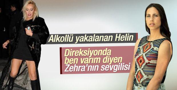 Helin Avşar Zehra'nın sevgilisini de yaktı