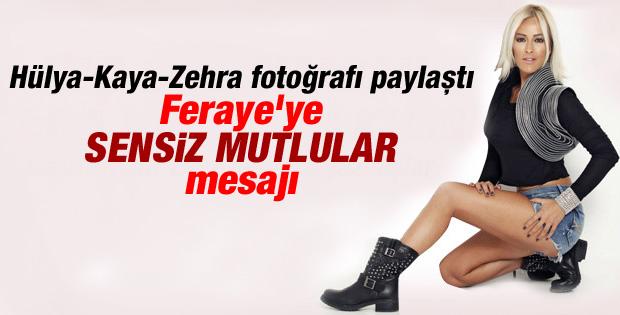 Helin Avşar'dan Feraye'yi kıskandıracak fotoğraf