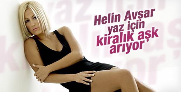 Helin Avşar bu yaz için kiralık aşk arıyor