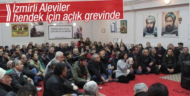 İzmir'de Alevilerin açlık grevi devam ediyor