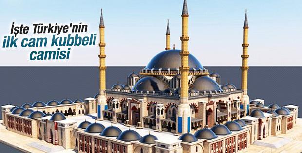 Bu cami Türkiye'de bir ilk olacak