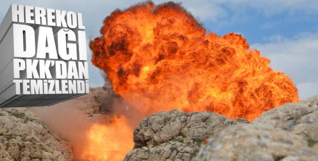 Terör örgütünün Herekol Dağı yapılanması çökertildi