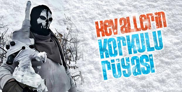 Karda kışta da PKK'ya aman yok