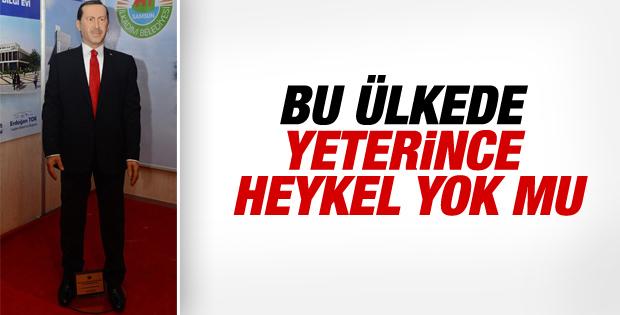 Cumhurbaşkanı Erdoğan'ın balmumu heykeli