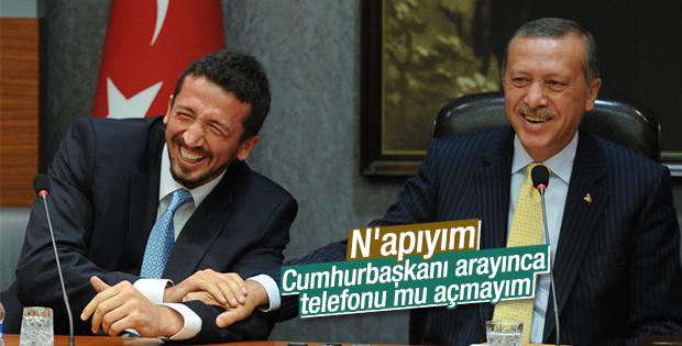 Hidayet Türkoğlu: Erdoğan arayınca telefonu açmayım mı