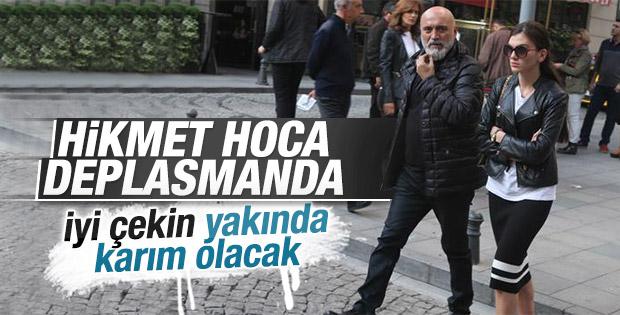 Hikmet Karaman İstanbul'da genç bir kadınla görüntülendi