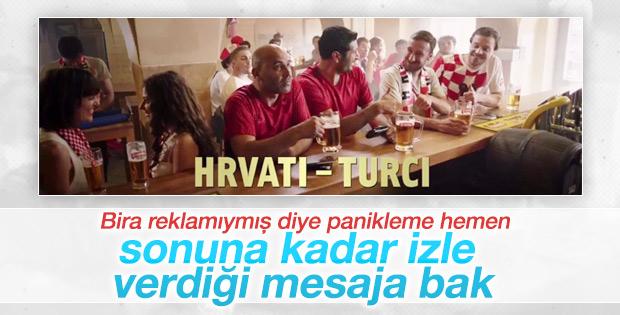 Hırvat bira markasından Türkiyeli reklam