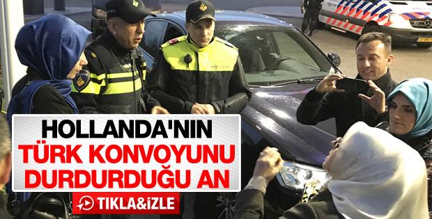 Hollanda polisinden Türk vatandaşlarına şiddet