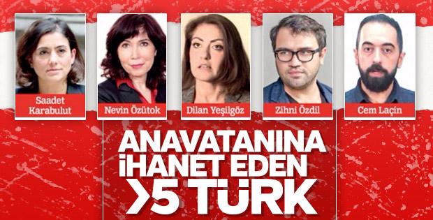 Ermeni Soykırımı var diyen 5 Türk vekil