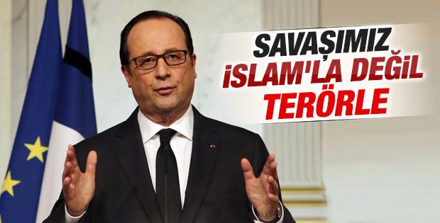 Fransa Cumhurbaşkanı Hollande: Çok büyük bir trajedi