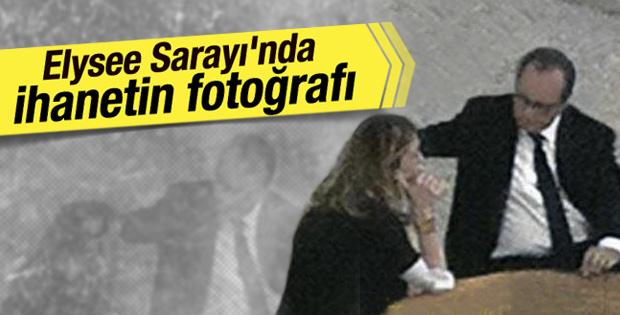 Hollande ve Gayet'in gizli çekilen fotoğrafı