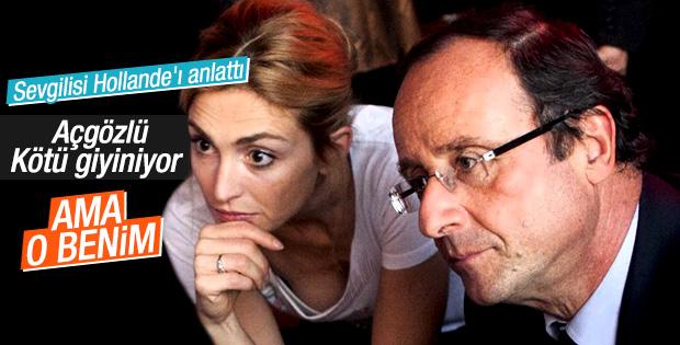 Julie Gayet: Hollande açgözlü