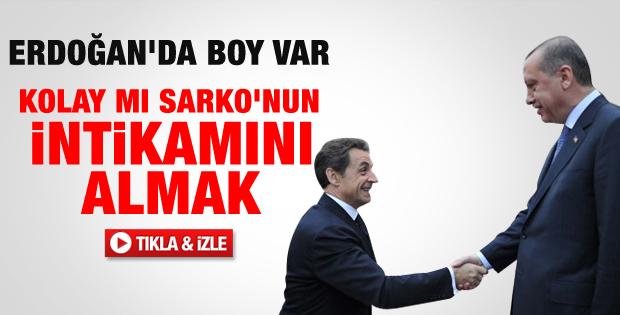 Hollande Sarkozy'nin intikamını almaya çalıştı