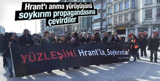 Hrant Dink'in anmasında soykırım propagandası