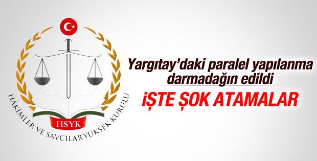 HSYK 66 kişilik Yargıtay kararnamesi yayımladı