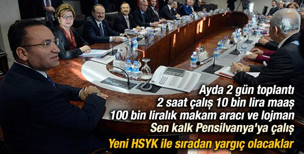 Yeni HSYK düzenlemesi