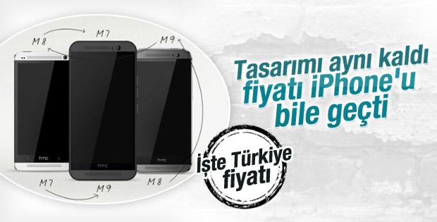 HTC One M9'un Türkiye fiyatı açıklandı