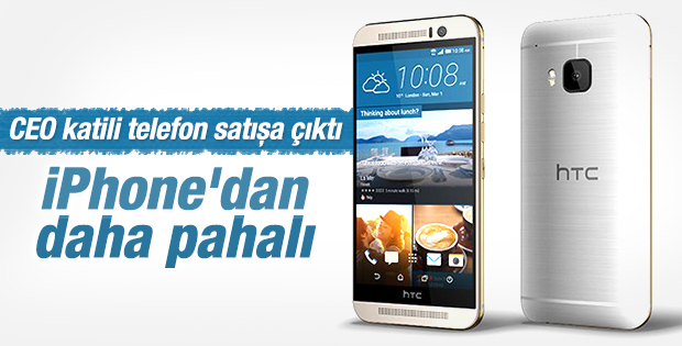 HTC One M9 Türkiye'de satışa çıktı