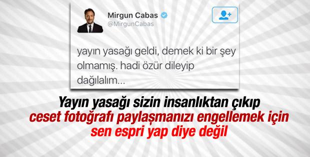 Mirgün Cabas'tan tepki çeken tweet