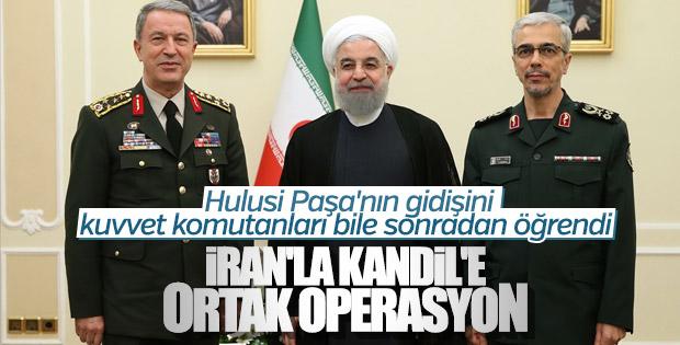 İran, Kandil'e ortak operasyon teklif etti iddiası
